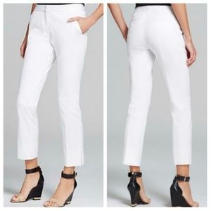 Tory Burch Tessa White Ankle Pants
